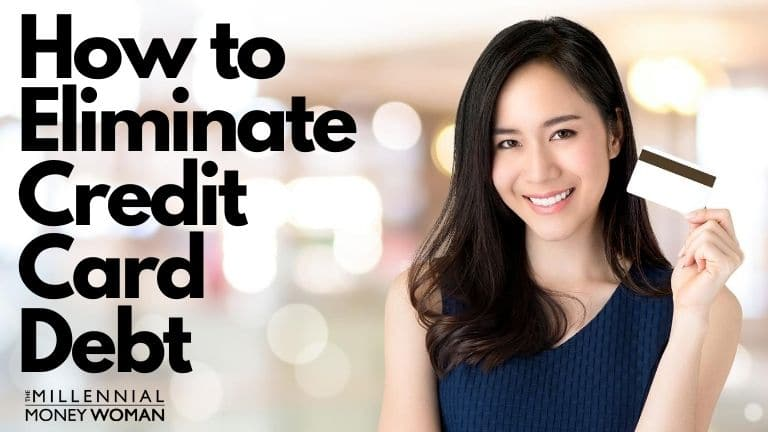"""the millennial money woman blog post """"how to pay off credit card debt"""""""