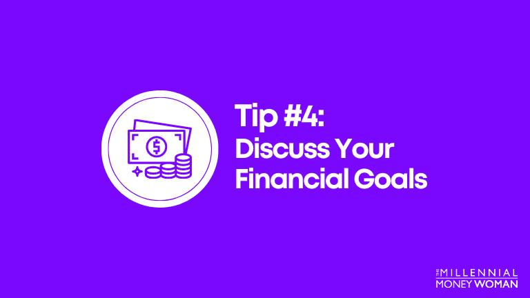 discuss your financial goals