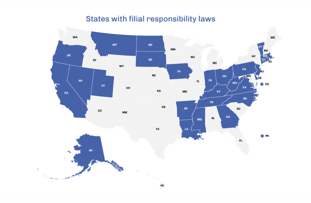 """the millennial money woman blog post """" states with current filial responsibility laws in place"""""""