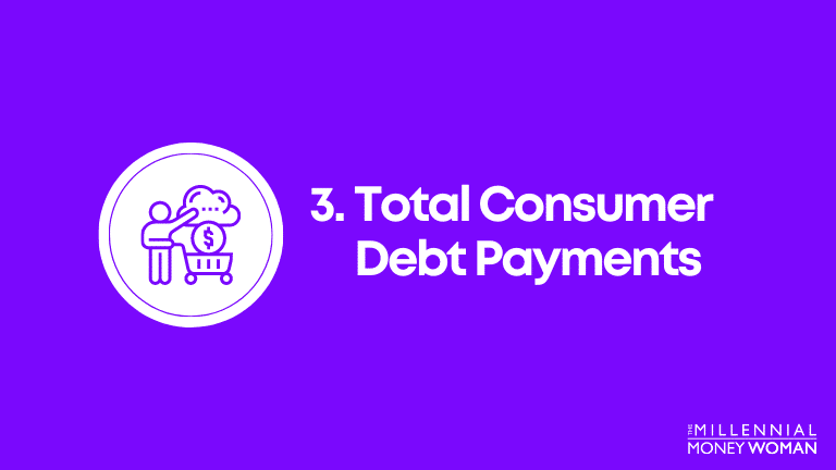 total consumer debt payments