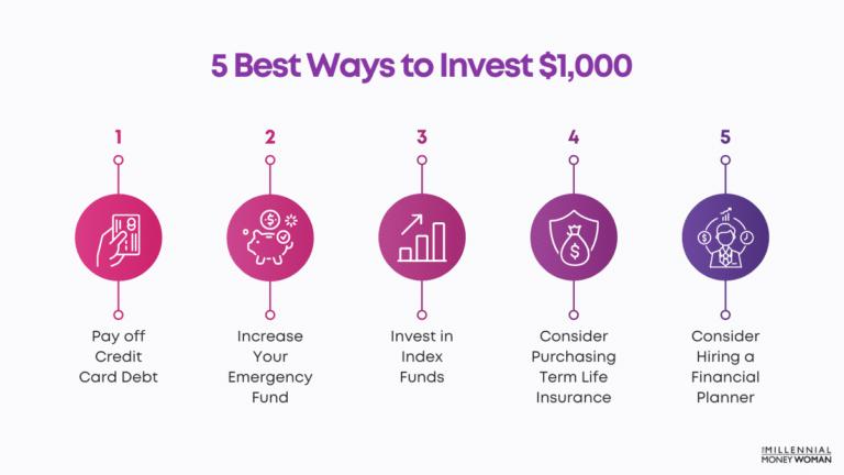 Best Ways To Invest $1,000 (5 Proven Strategies)