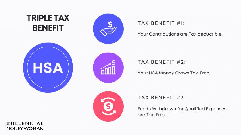 "the millennial money woman blog post ""triple tax benefit"""