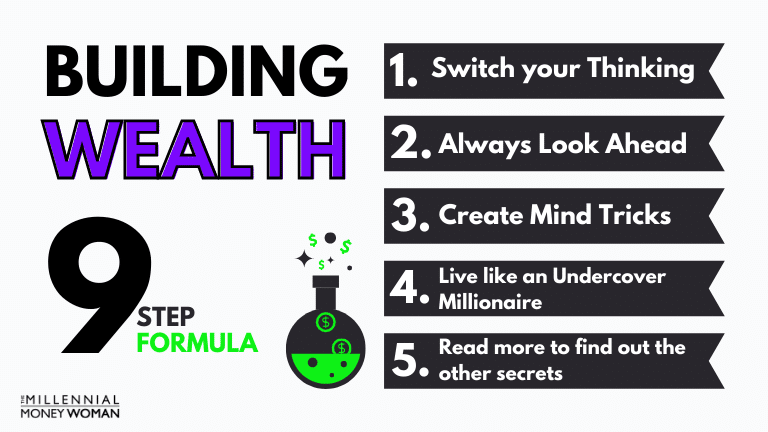 """the millennial money woman blog post """"HOW TO BUILD WEALTH"""""""