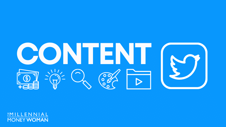 """the millennial money woman blog post """"what is content creation"""""""