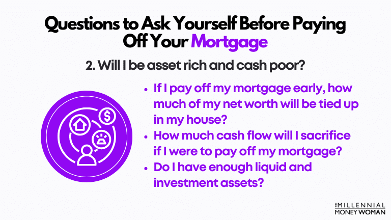 """the millennial money woman blog post """"second question to ask yourself before paying off your mortgage early"""""""