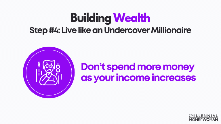 step 4 live like an undercover millionaire
