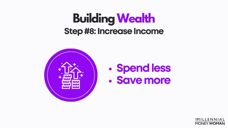 step 8 increase income