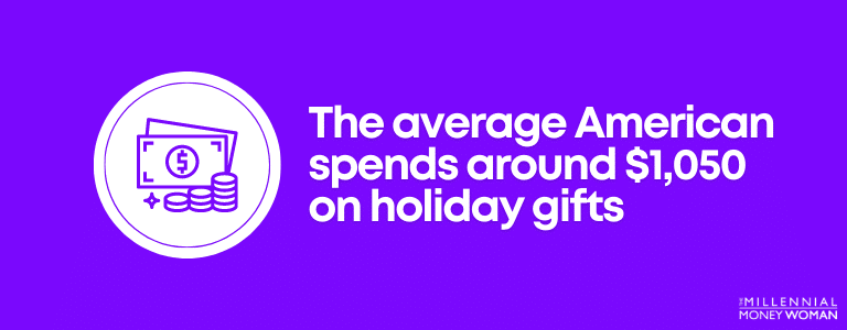 American holiday spending statistic