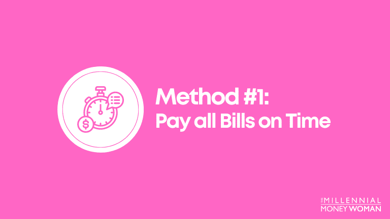 pay all bills on time