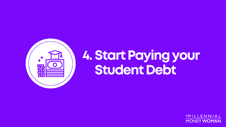 start paying off your student debt