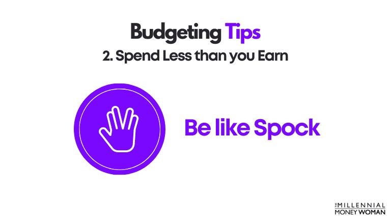 budgeting tip 2