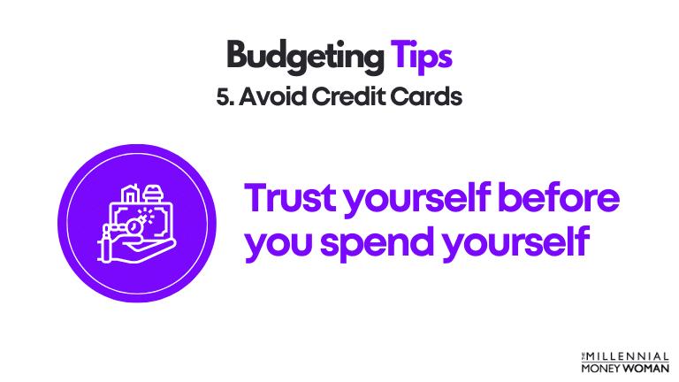budgeting tip 5