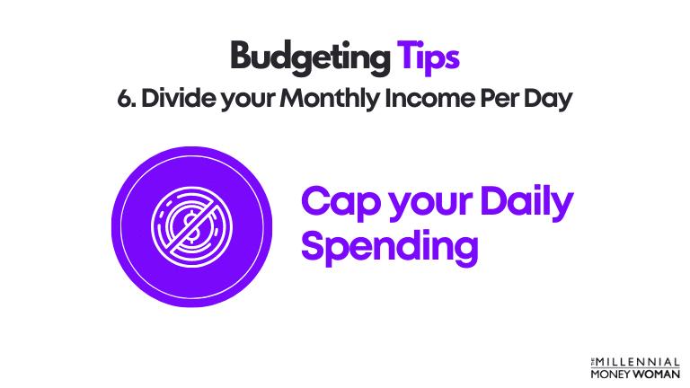 budgeting tip 6