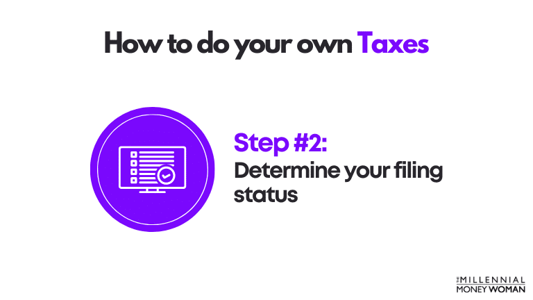how to do your own taxes step 2