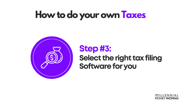 how to do your own taxes step 3