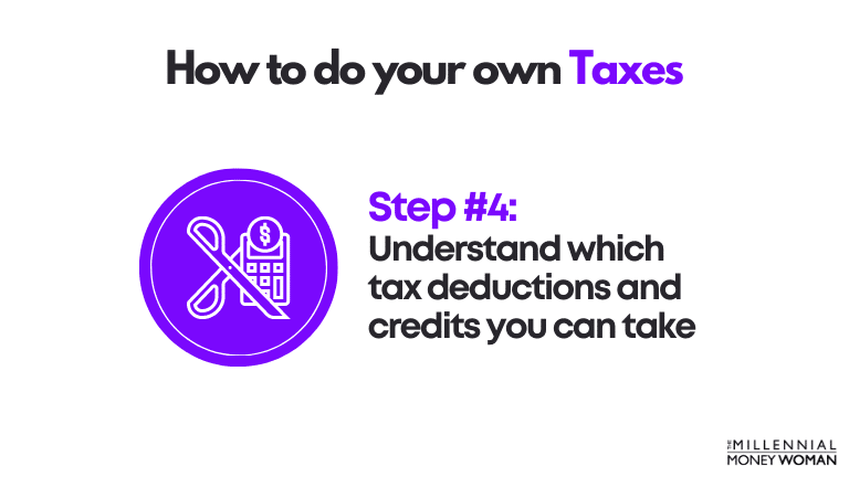 how to do your own taxes step 4