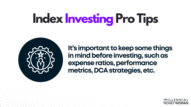 index investing pro tips