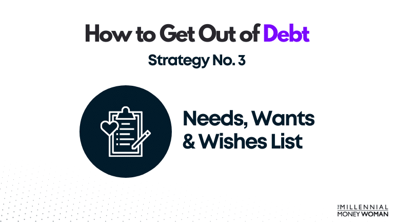 """the millennial money woman blog post """"how to get out of debt strategy 3"""""""