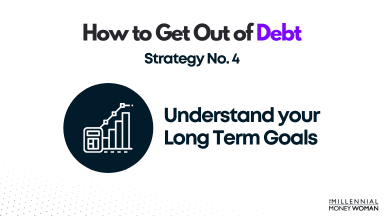 """the millennial money woman blog post """"how to get out of debt strategy 4"""""""