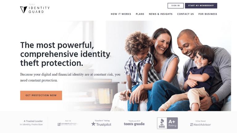 identity guard identity theft protection