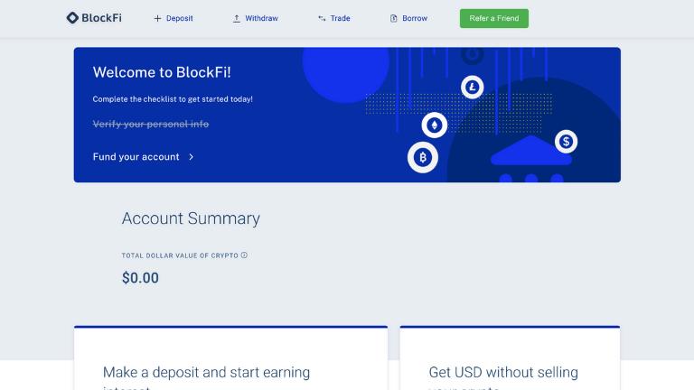 blockfi dashboard screenshot