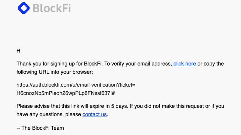 blockfi sign up part 2