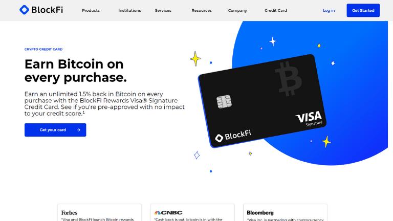 blockfi bitcoin credit card