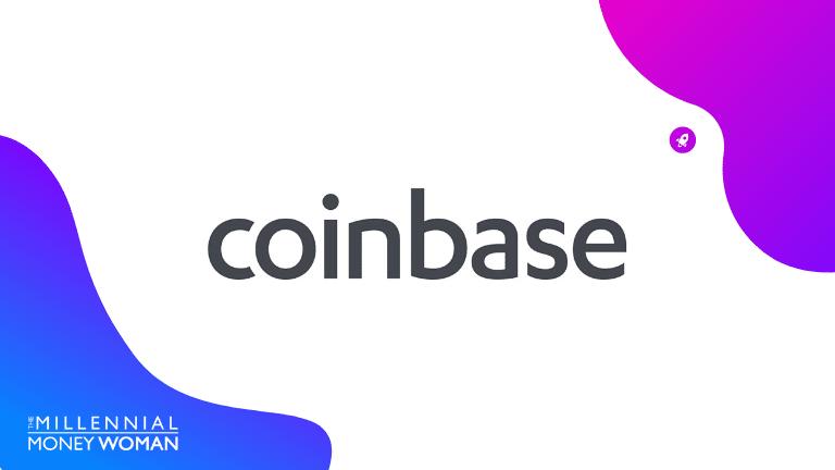 "the millennial money woman blog post ""coinbase review"""
