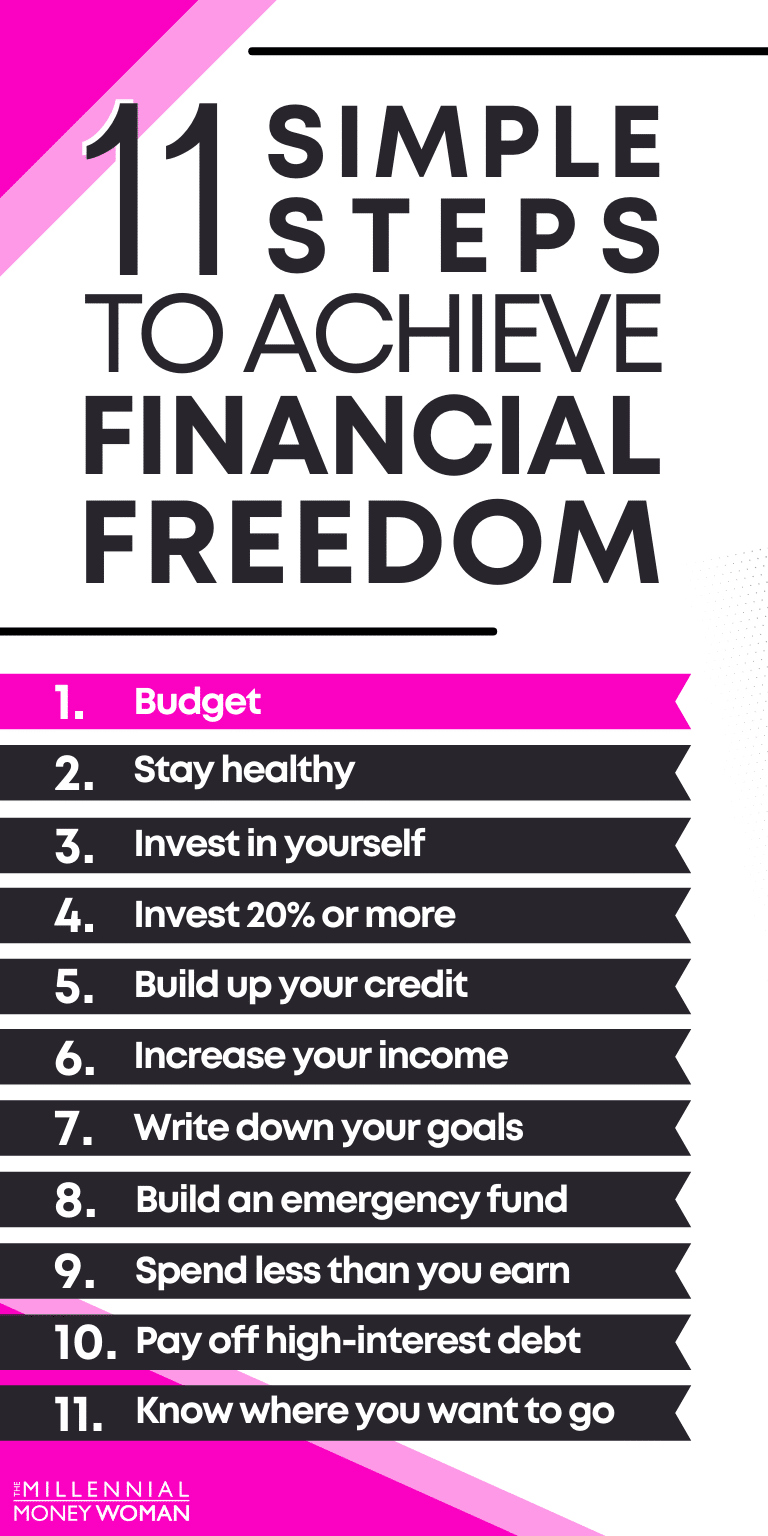 11 simple steps to achieve financial freedom
