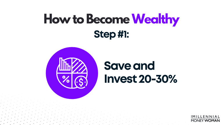 Save and Invest 20-30%