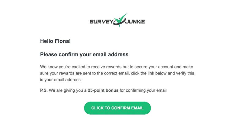 survey junkie signup step 8