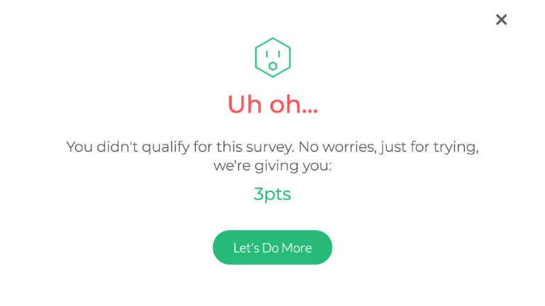 How to take a Survey with Survey step 8