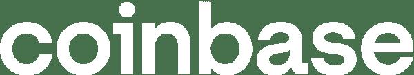 coinbase logo white