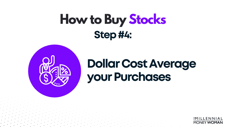 dollar cost average your purchases