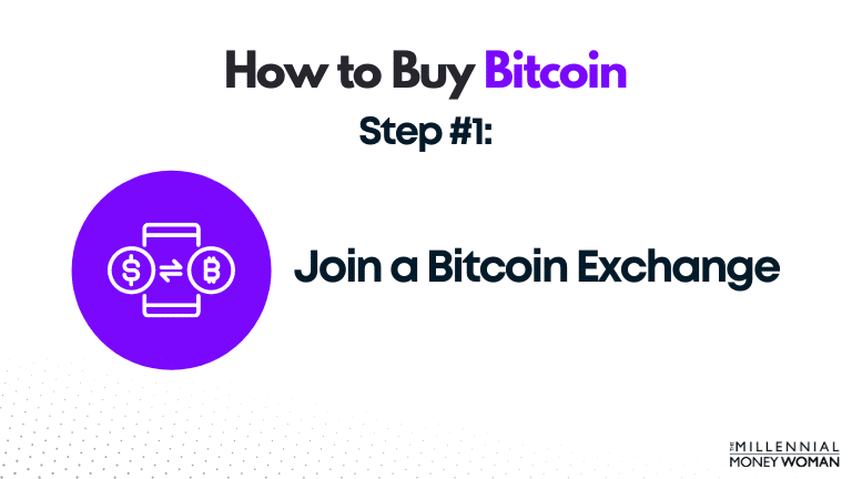 how to buy bitcoin step 1