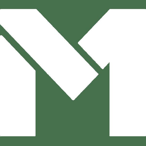 m1 finance white logo