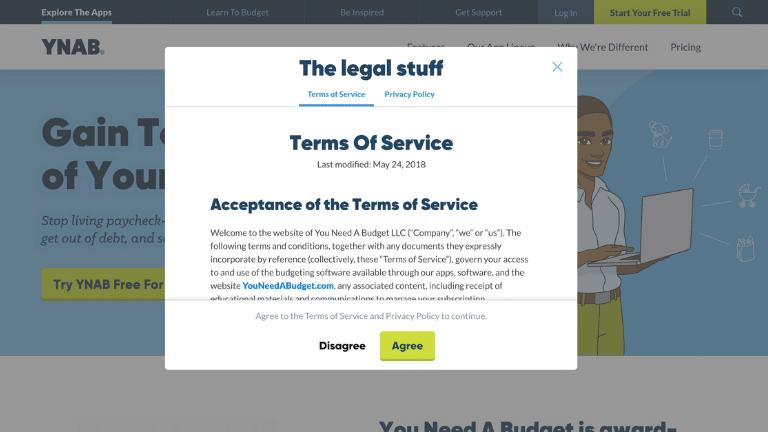 ynab - account set up step 2